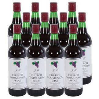 Non alcoholic communion wine